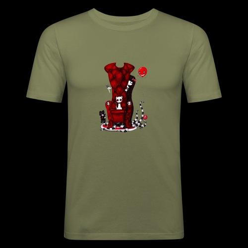 Cruelle petite fille - T-shirt près du corps Homme