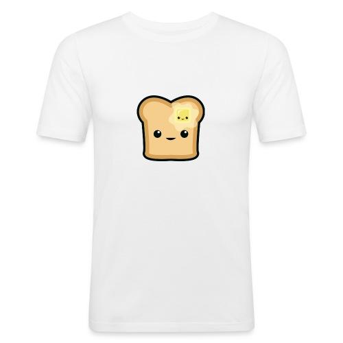 Toast logo - Männer Slim Fit T-Shirt