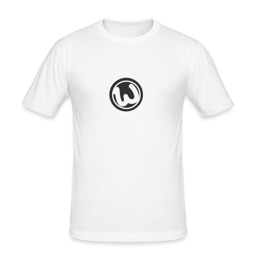 Wooshy Logo - Men's Slim Fit T-Shirt