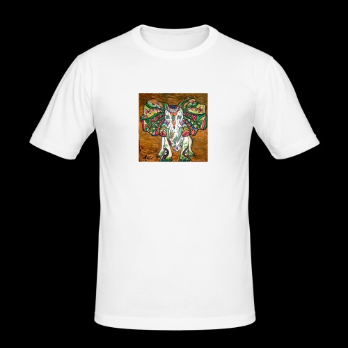 elefante - Mannen slim fit T-shirt