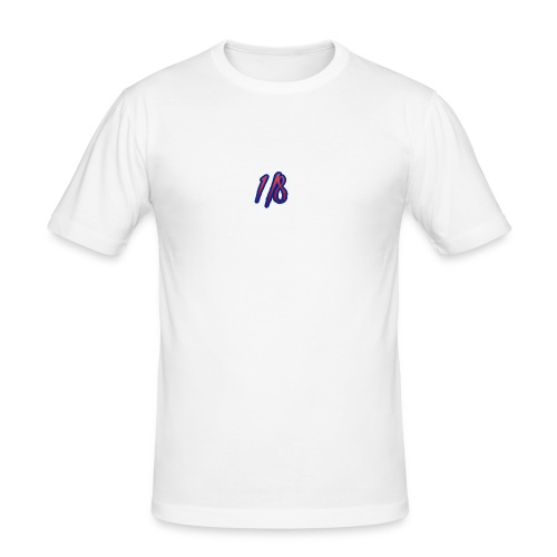 1/8 Birth Tee White - Men's Slim Fit T-Shirt