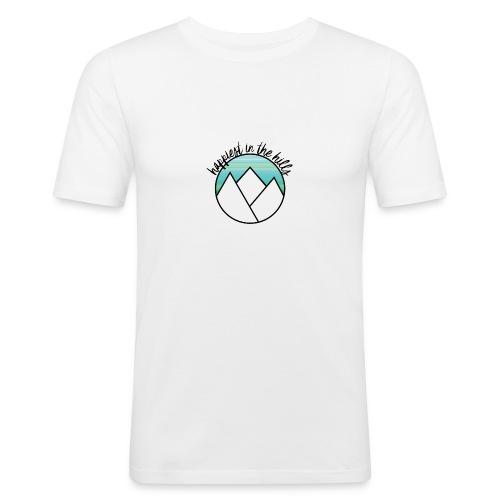 HITH LOGO Colour - Men's Slim Fit T-Shirt