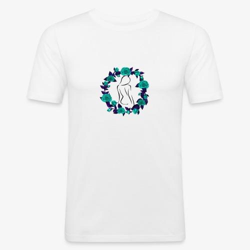 Sexy Rose's Women - T-shirt près du corps Homme