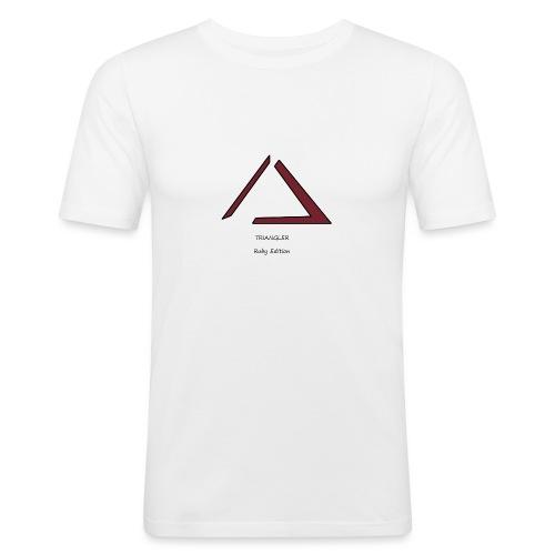 Triangler Ruby édition , Première collection - T-shirt près du corps Homme