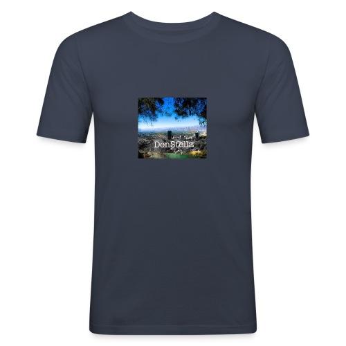 Denstella - Herre Slim Fit T-Shirt
