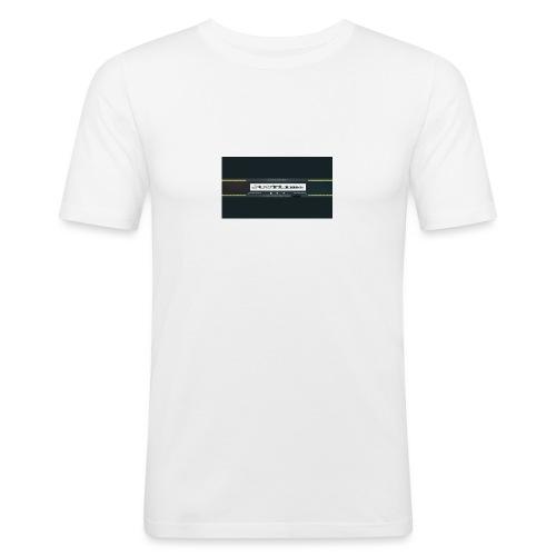 JUSTL1me channel banner merch - Men's Slim Fit T-Shirt