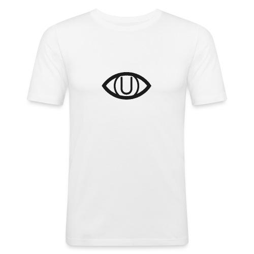EYE SYMBOL BLACK - Men's Slim Fit T-Shirt
