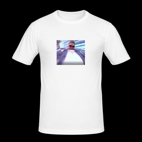 nIcK cRoMpTon - Men's Slim Fit T-Shirt