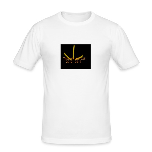 TheAnimator935 Logo - Men's Slim Fit T-Shirt