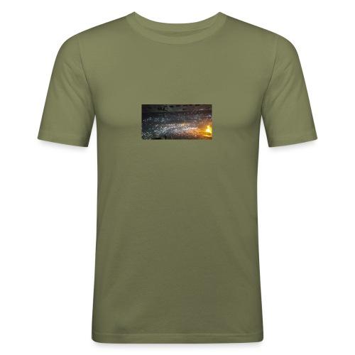 BIEBER - Männer Slim Fit T-Shirt