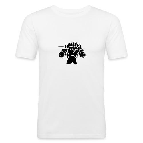 Panssarimies - Miesten tyköistuva t-paita