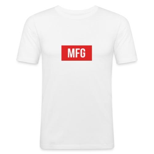 MFG on Youtube Logo - Men's Slim Fit T-Shirt