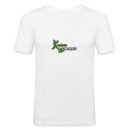 Kaslum Gaming Logo - Herre Slim Fit T-Shirt