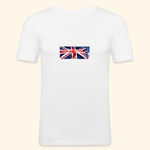UK flag - Men's Slim Fit T-Shirt