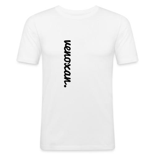 venoxan T-Shirt mit Schriftzug an der Seite - Men's Slim Fit T-Shirt