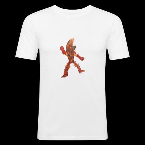 Fire Blast Show Star BY TAiTO - Miesten tyköistuva t-paita