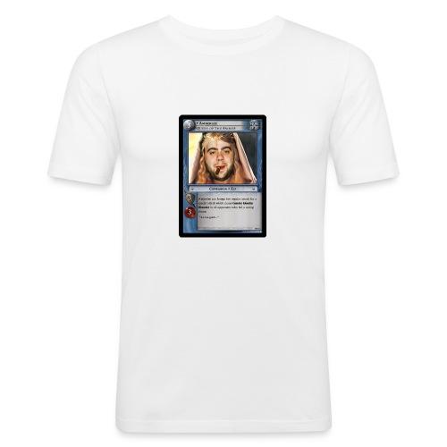 krisstradingcard - Men's Slim Fit T-Shirt