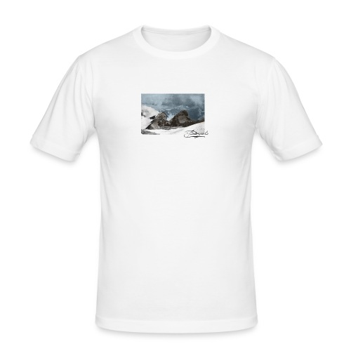 Mountains Colorized - Camiseta ajustada hombre