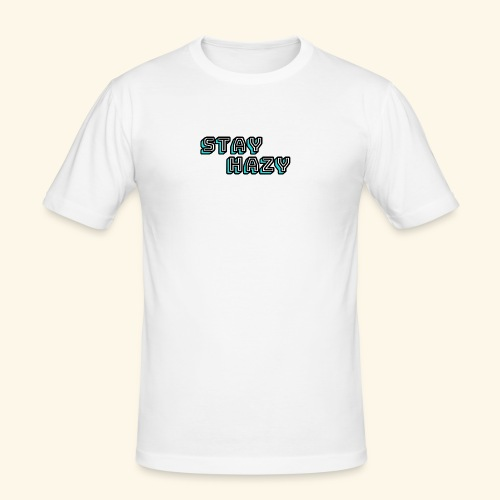 stay hazy official - Men's Slim Fit T-Shirt