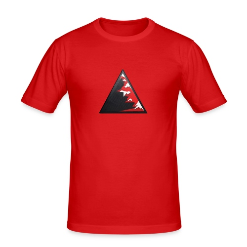 Climb high as a mountains to achieve high - Men's Slim Fit T-Shirt