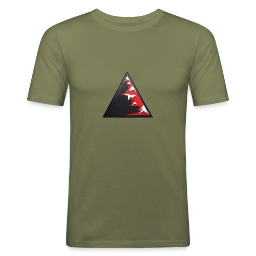 Climb high as a mountains to achieve high - Men's Slim Fit T-Shirt
