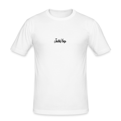 JoshkVlogs Logo - Men's Slim Fit T-Shirt