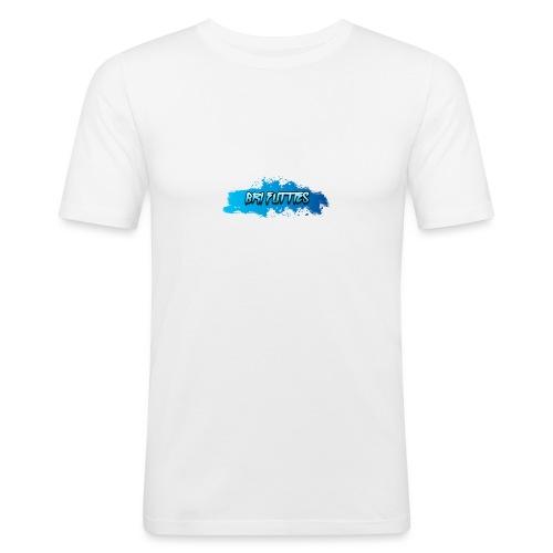 Bri Futties paint design - Men's Slim Fit T-Shirt