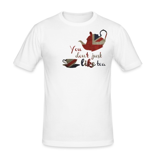 YdjlT on white - Men's Slim Fit T-Shirt