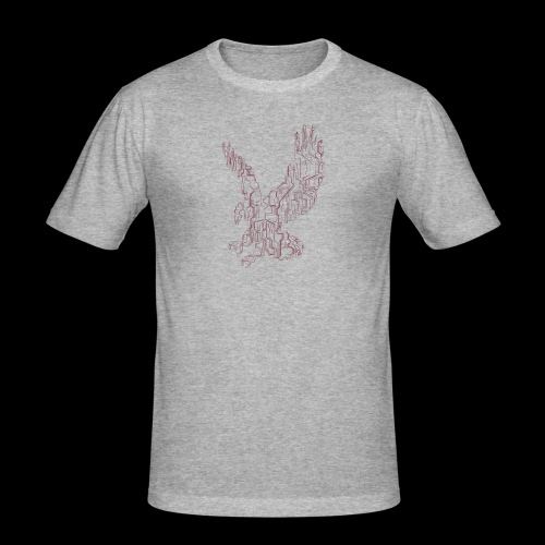 Eagle circuit - Herre Slim Fit T-Shirt