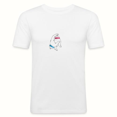 Graffiti Hand bomb - T-shirt près du corps Homme