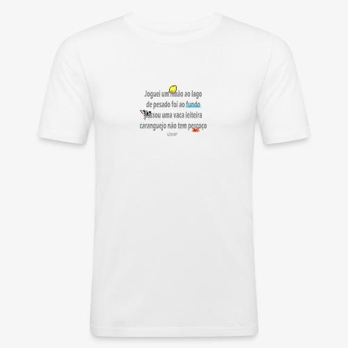 Versinho de infancia - Men's Slim Fit T-Shirt