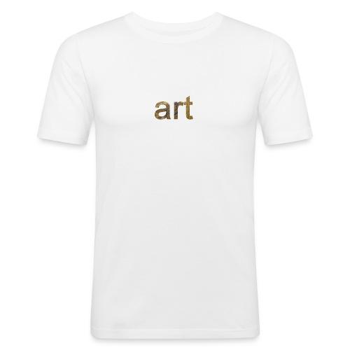 art - T-shirt près du corps Homme