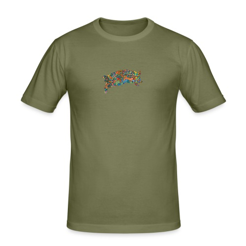 Time for a lucky jump - Men's Slim Fit T-Shirt