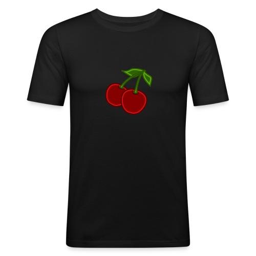 cherry - Obcisła koszulka męska