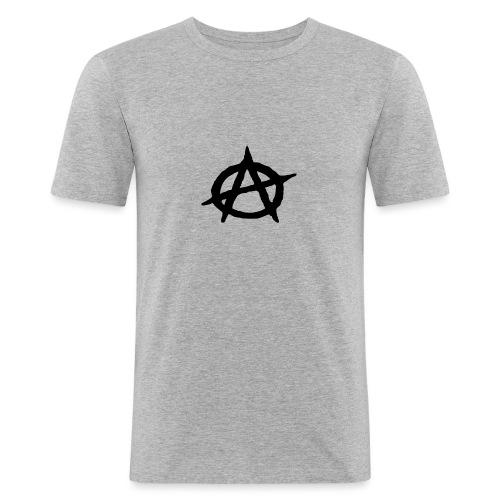 Anarchy - T-shirt près du corps Homme