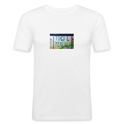 KLOSPRUCH FIXED & FERTIG - Männer Slim Fit T-Shirt
