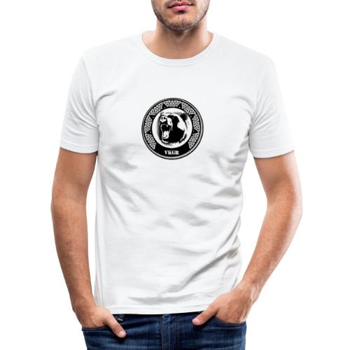 received 752403285299722 - T-shirt près du corps Homme