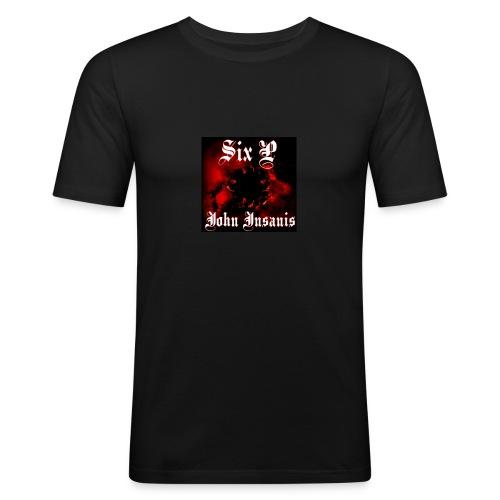 Six P John Insanis T-Paita - Miesten tyköistuva t-paita