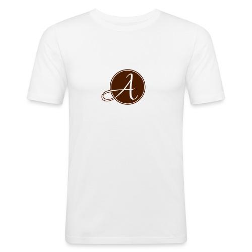 Logo Arnet Photography - Männer Slim Fit T-Shirt
