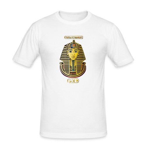Tutanchamun I Goldmaske I Ägypten - Männer Slim Fit T-Shirt