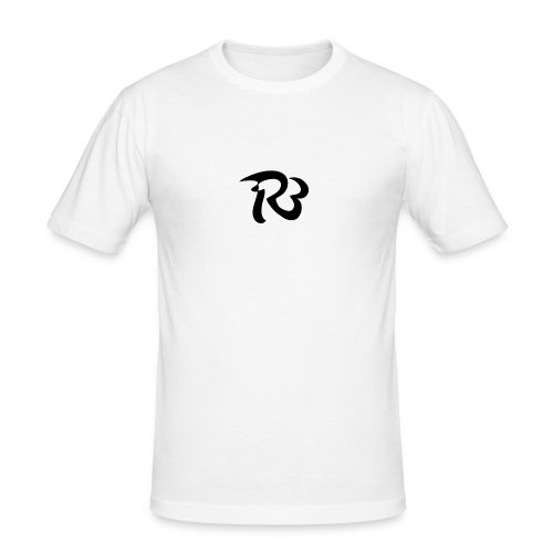 R3 MILITIA LOGO - Men's Slim Fit T-Shirt