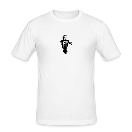 robot 4 - Men's Slim Fit T-Shirt