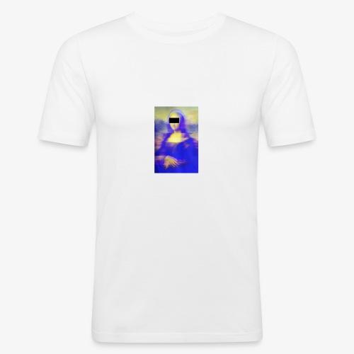 Mona Lisa X DNA Tee - Men's Slim Fit T-Shirt