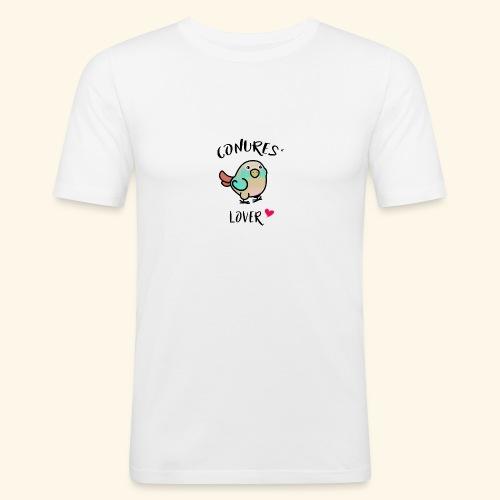 Conures' Lover: blue cinamon - T-shirt près du corps Homme