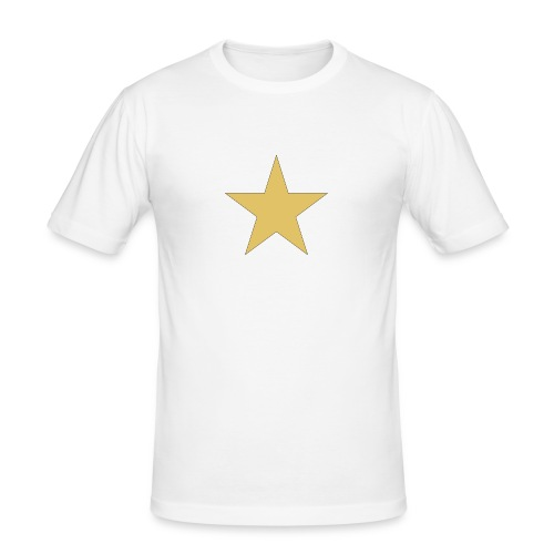 ardrossan st.pauli star - Men's Slim Fit T-Shirt