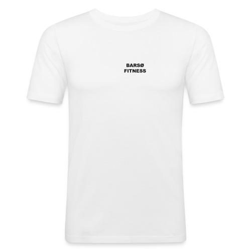 Barsø fitness shirt 1 - Herre Slim Fit T-Shirt