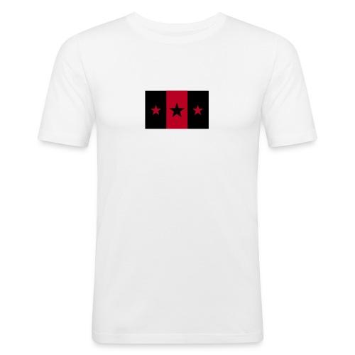 Star Flagge - Männer Slim Fit T-Shirt