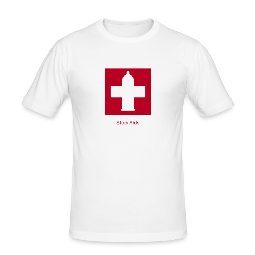 aids 2 - Männer Slim Fit T-Shirt