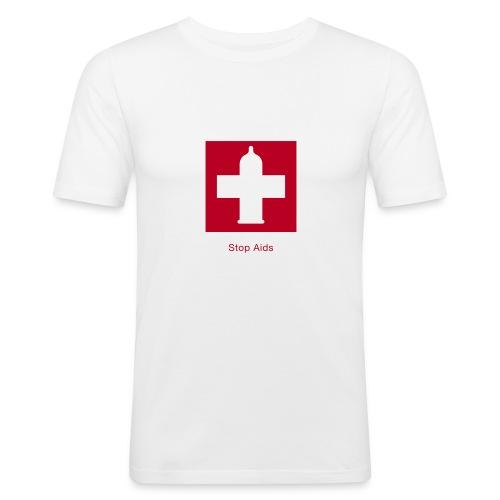 aids 2 - Männer Slim Fit T-Shirt