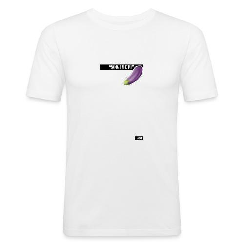zuig_me_pie - Mannen slim fit T-shirt